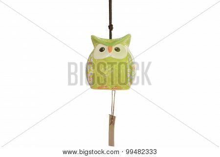 Owls mobile wind chime