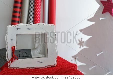 Framed Christmas Greeting