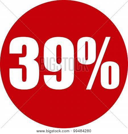 39 Percent Icon