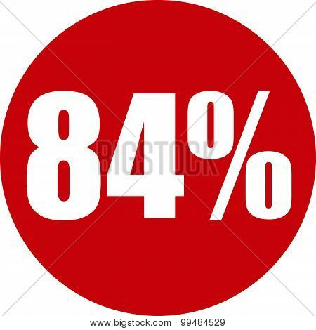 84 Percent Icon