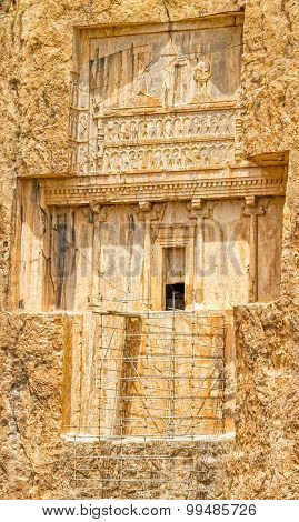 Naqsh-e Rustam unfinished tomb