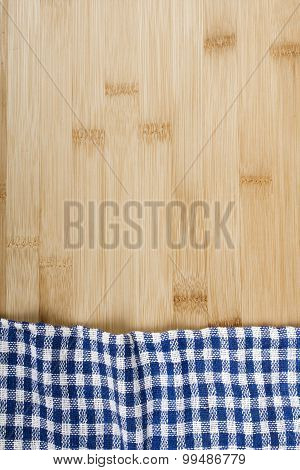 table covered with tablecloth