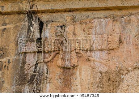 Faravahar Persepolis royal tombs
