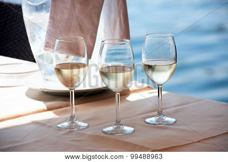 Wine Near Sea