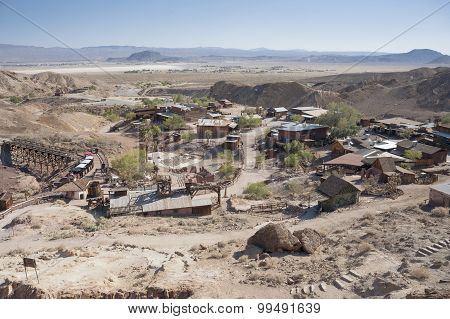 View Of Calico, California, San Bernardino County Par