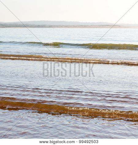 Abstract In Morocco  Sea Africa Ocean Wave And Lanscape