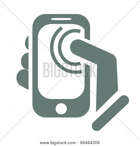 Cell Phone Touch Screen Notifications