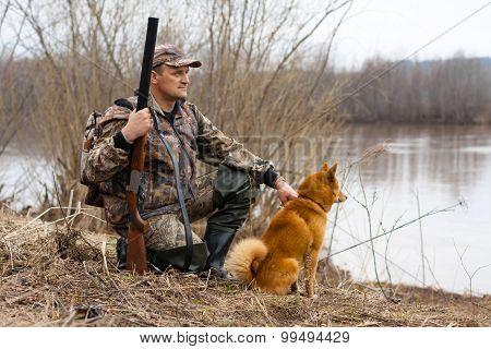 Hunter On The Shore