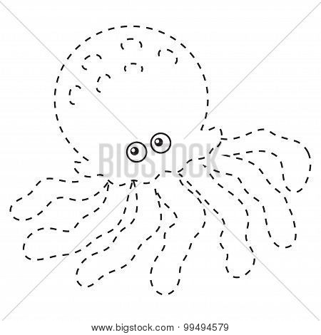 Connect The Dots (octopus)