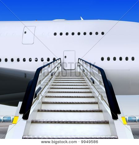 Staircases And Plane