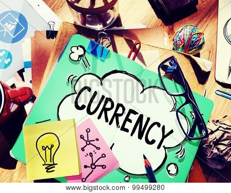 Currency Finance Money Economic Banking Concept