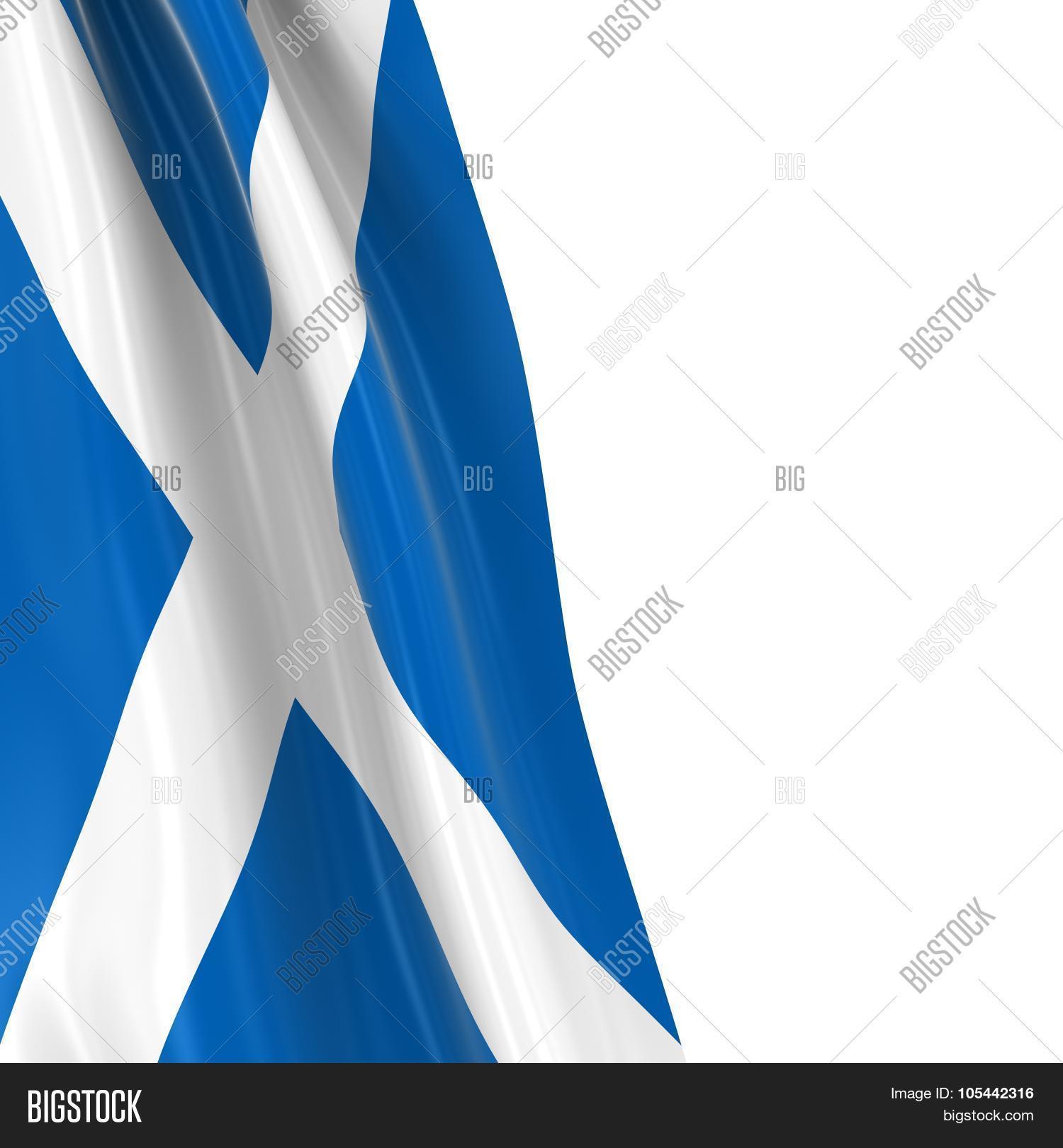hanging flag scotland 3d render image u0026 photo bigstock