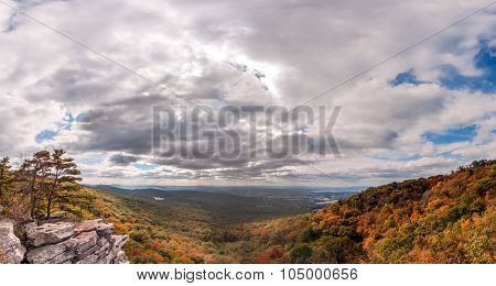 Appalachian Mountain Autumn Landscape