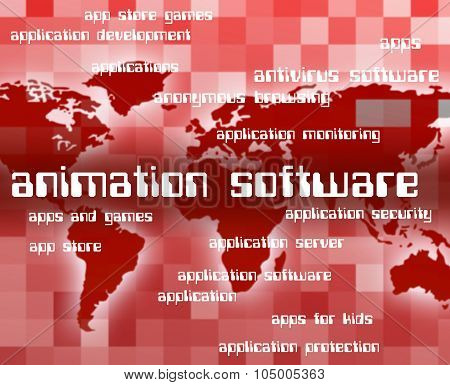 Animation Software Represents Programs Softwares And Freeware