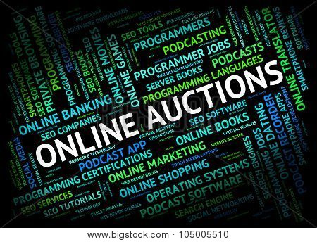 Online Auctions Means World Wide Web And Searching