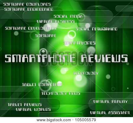 Smartphone Reviews Represents Evaluating Evaluate And Critic