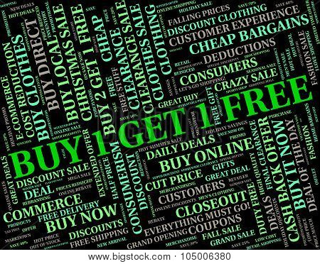 Buy One Represents Closeout Discount And Save