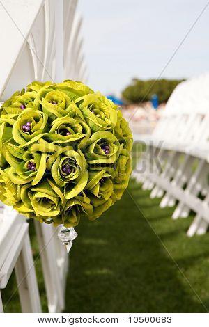 Wedding Seat Boquet