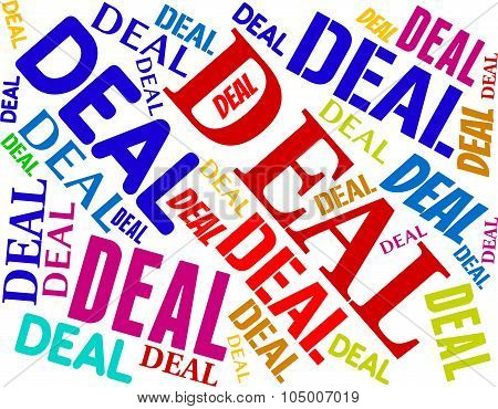 Deal Word Means Best Deals And Agreement