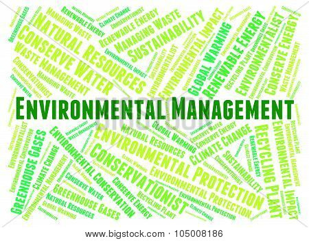 Environmental Management Shows Earth Day And Authority