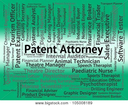 Patent Attorney Shows Performing Right And Da