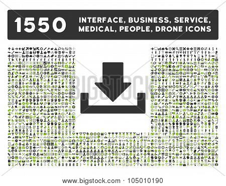 Download Icon And More Interface, Business, Tools, People, Medical, Awards Flat Glyph Icon Collectio