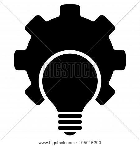 Bulb Configuration Flat Icon