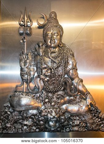 Mahesh, Shiva (This statue is an element in the Thai Temple, Public area )
