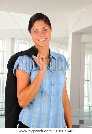 Female Business Professional In Office Setting
