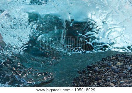 Beautiful Texture Of Ice