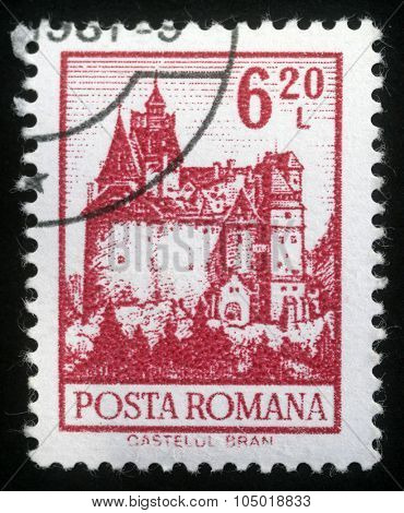ROMANIA - CIRCA 1972: A stamp printed in Romania from the