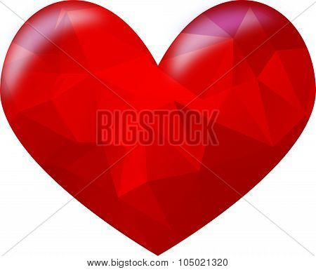 red hart, red heart,