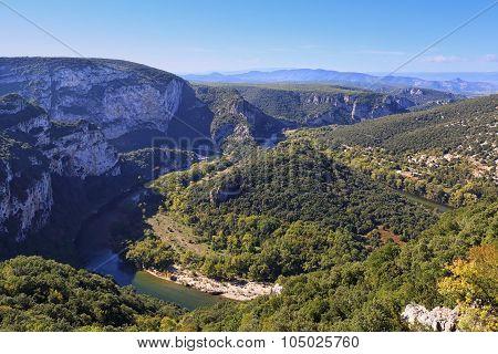 France, Ardeche Gorge