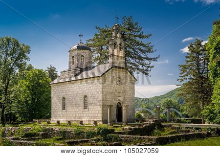 Oldest church of Montenegro, The Court Church in Cetinje.