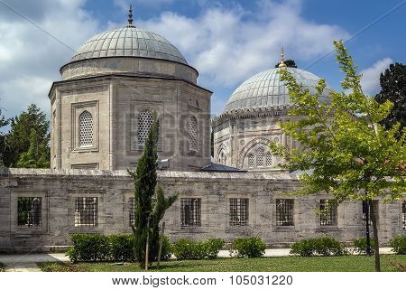 The Mausoleum Of Suleyman, Istanbul