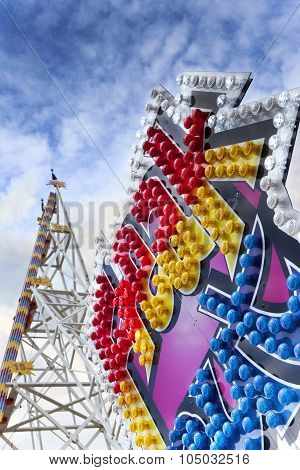Ride In A Fairground