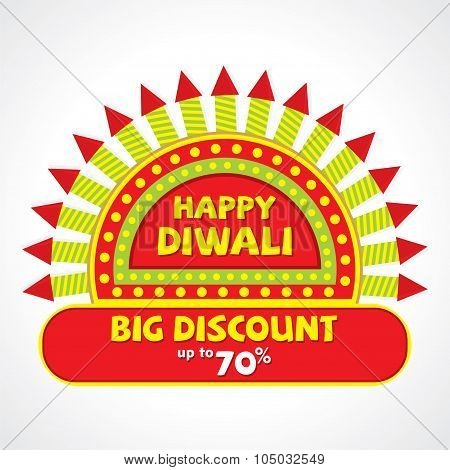 diwali festival big discount design