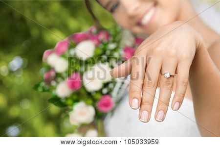 Wedding ring.