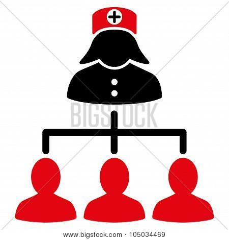 Nurse Patients Icon