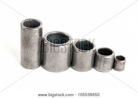 Metal cylinders - elements of the industrial roller chain