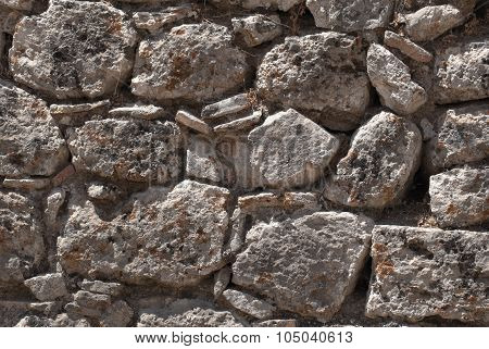 Fragment of the fortress wall.