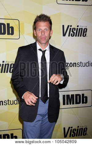 LOS ANGELES - OCT 15:  Bill McAdams Jr at the IMDB's 25th Anniversary Party at the Sunset Tower on October 15, 2015 in West Hollywood, CA