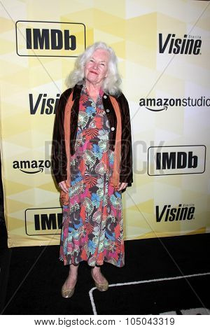 LOS ANGELES - OCT 15:  Jamie Donnelly at the IMDB's 25th Anniversary Party at the Sunset Tower on October 15, 2015 in West Hollywood, CA
