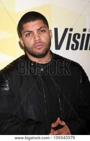 LOS ANGELES - OCT 15:  O'Shea Jackson Jr. at the IMDB's 25th Anniversary Party at the Sunset Tower on October 15, 2015 in West Hollywood, CA
