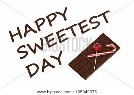 Happy Sweetest Day Concept