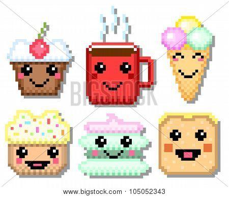 Pixel sweet set