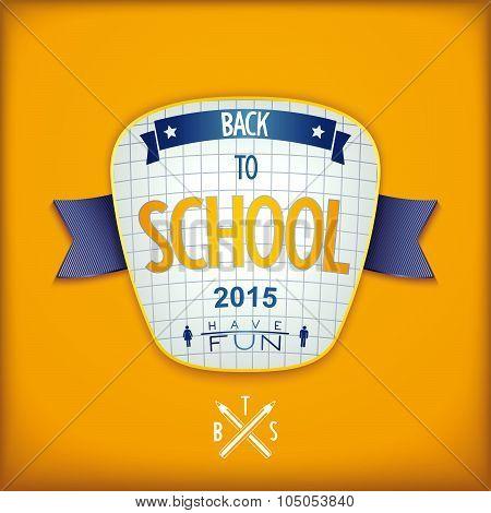 Creative school emblem design