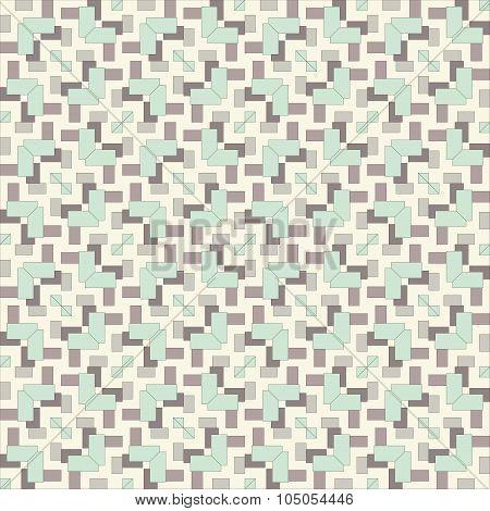 Seamless Vintage Fabric Pattern