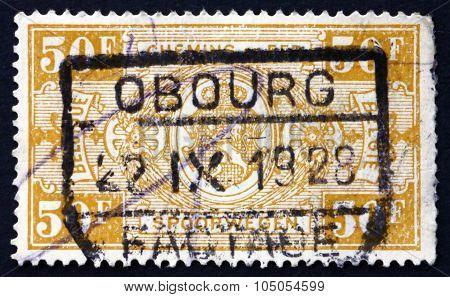 Postage Stamp Belgium 1927 Parcel Post Stamp