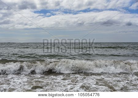 Waves after a storm.